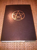 An example of a Book of Shadows!